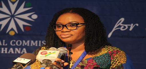 Electoral Commission Chairperson, Charlotte Osei