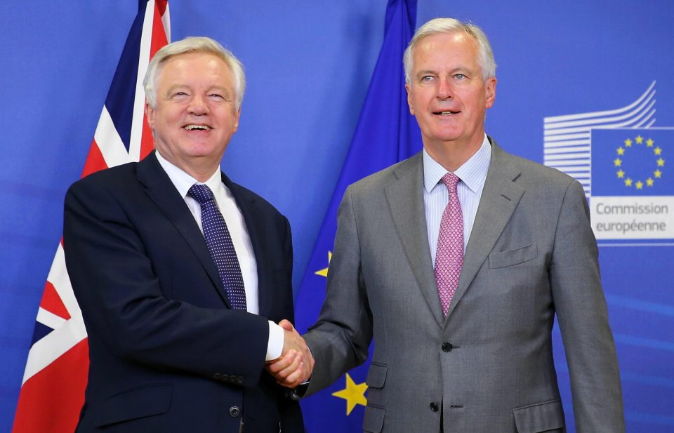 UK and EU negotiators