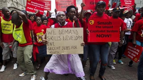 Youth unemployment creates security threats