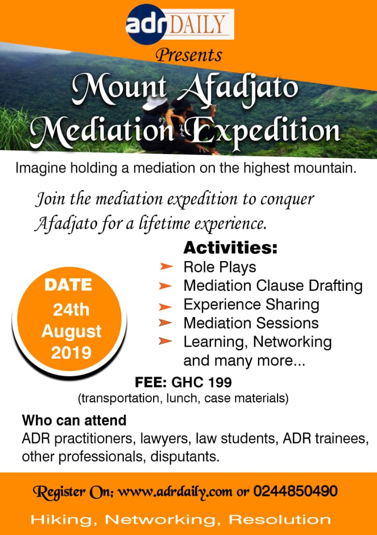 Mount Afadjato Mediation Expedition