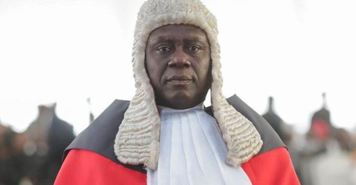 Chief Justice Anin Yeboah