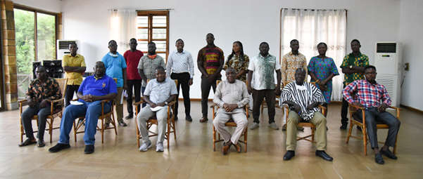 The management members and executives of the junior staff