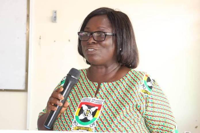 Dr Mrs Vida Korang, acting Executive Director of MCRC