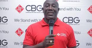 Daniel Wilson Addo., Managing Director of CBG, the lead sponsor