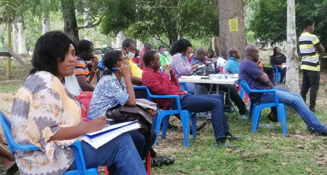 The participants were keen on learning the ropes of mediation